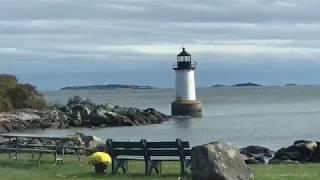 Camping on Winter Island Park Salem Massachusetts