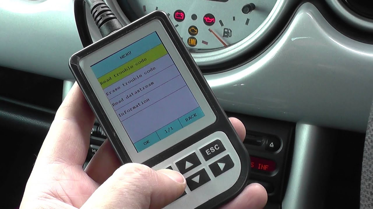 BMW  Mini Engine Warning Light Reset Tool Diagnose Mini Fault
