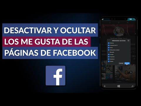 Cómo Desactivar y Ocultar los Me Gusta de las Páginas en Facebook