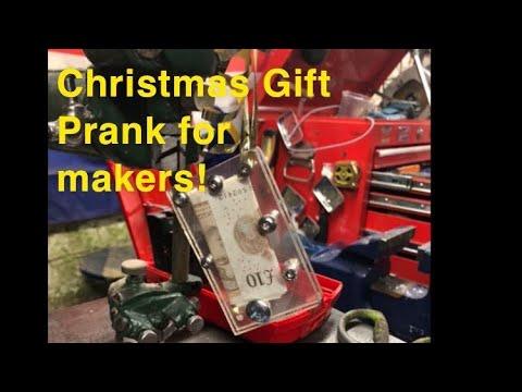 Christmas Gift-Prank For Makers! - YouTube