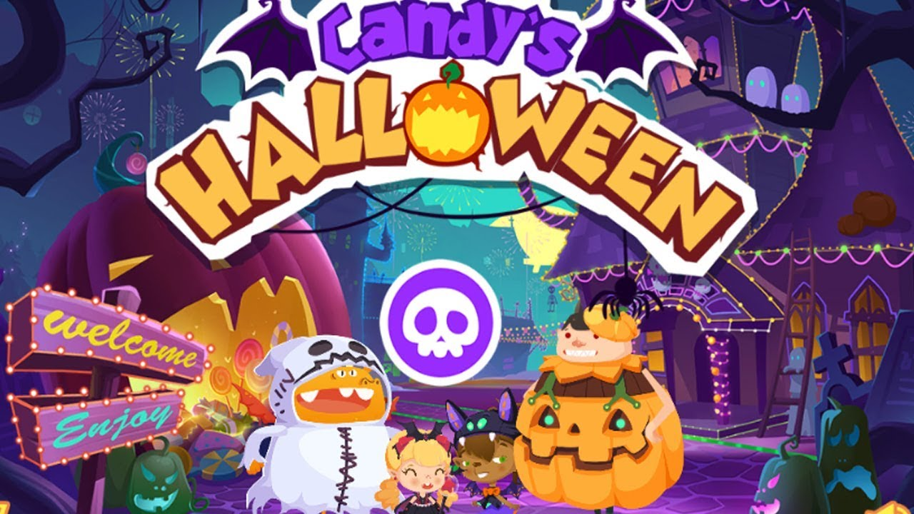 Games Halloween - Halloween Makeup Me - Fun Baby Games | M92 Channel