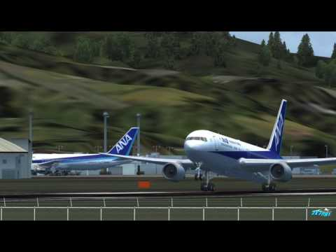 FSX JAPAN Okayama Airport Scenry Released video