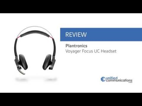 Plantronics Voyager Focus Uc M Bluetooth Headset For Skype For Business Lync