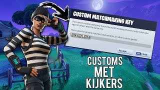 CUSTOM KEYS MET KIJKERS & GIVEAWAY 'DEEP FREEZE BUNDLE'! // FORTNITE BATTLE ROYALE NEDERLANDS
