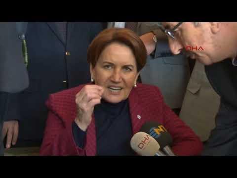 İyi Parti Genel Başkanı Meral Akşener...