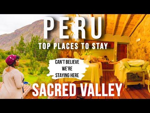The BEST LUXURY Hotel In PERU | Cusco Peru & Sacred Valley Travel Vlog 2020