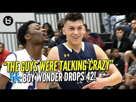 'The Guys Were TALKING CRAZY' KENTUCKY commit Tyler Herro scores 42 Points! Full Highlights!