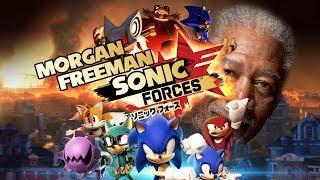 Morgan Freeman Plays Sonic Forces