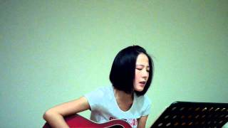 2ne1 lonely English version guitar cover  by jujuling
