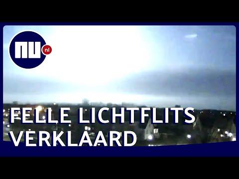 Zo Ontstond De Lichtflits Boven Nederland | NU.nl