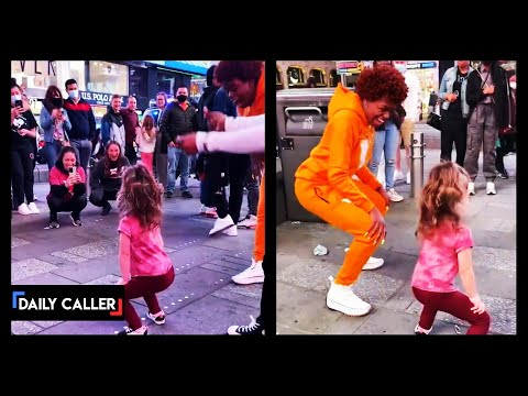 Twerking Toddler Cheered On By Crowd In Times Square. Is This 'Empowerment?'
