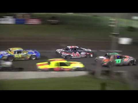 IMCA Hobby Stock feature Benton County Speedway 5/20/18