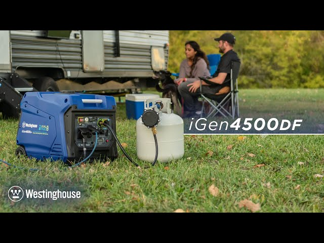 iGen4500DF Dual Fuel Inverter Generator by Westinghouse