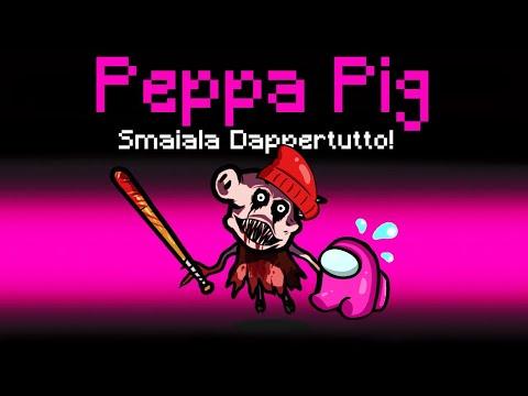 IL NUOVO RUOLO DI PEPPA PIG SU AMONG US CON LE MOD!!