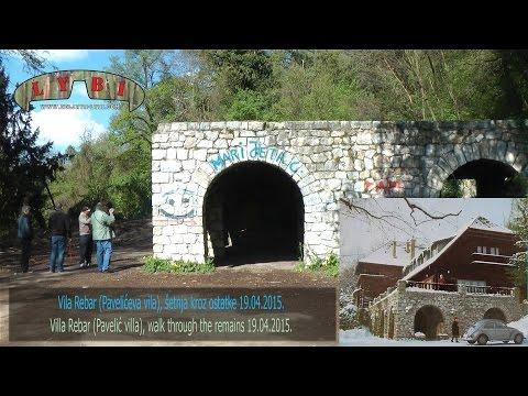 Vila Rebar (Pavelićeva vila), šetnja kroz ostatke (19.04.2015.)