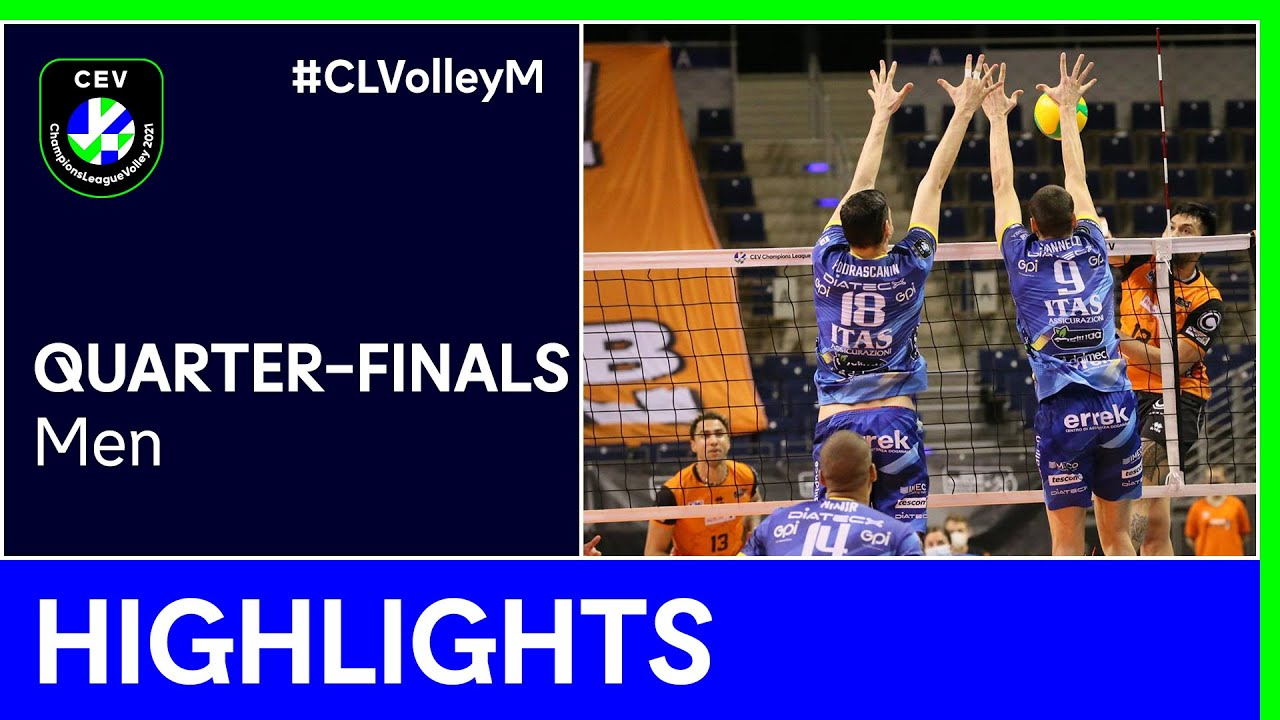 BERLIN Recycling Volleys vs. TRENTINO Itas Highlights - #CLVolleyM