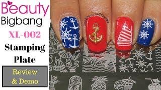 Beauty Bigbang XL-002 Nail Stamping Plate   Review & Demo   Designyournailsbyisha