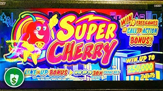 Super Cherry slot machine, bonus