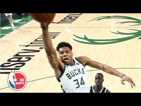 Giannis Antetokounmpo's 24 points leads Bucks to blowout of Pistons   NBA Highlights