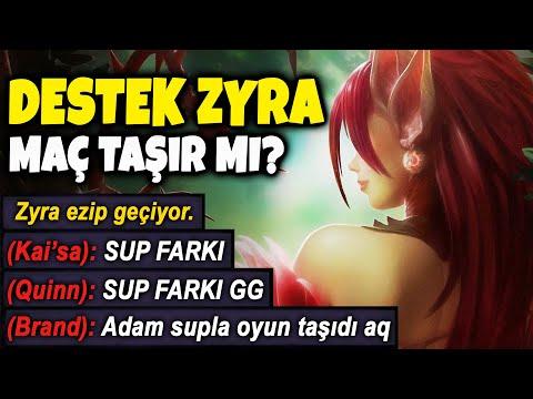 ZYRA DESTEK TAŞIR MI ??? HERKES CHALLENGER OLMUŞ EFSANE SUNUCU !!! | Apophis