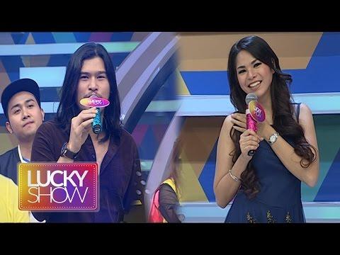 Gokilnya Suara Virzha Saat Menyanyikan Lagu 'Di Atas Awan' [Lucky Show ] [1 Nov 2016]