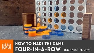 Four-in-a-Row game (Connect Four™) // How-To