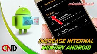 Trik menambah memori internal Android pakai kode rahasia (Tanpa root)