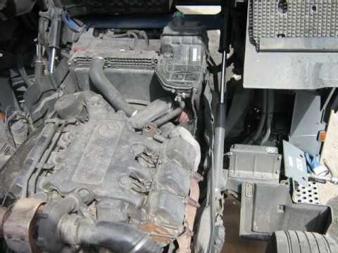 Mercedes Actros 1846 engine sound dzwiek praca silnika silnik alternator wbcars l ...
