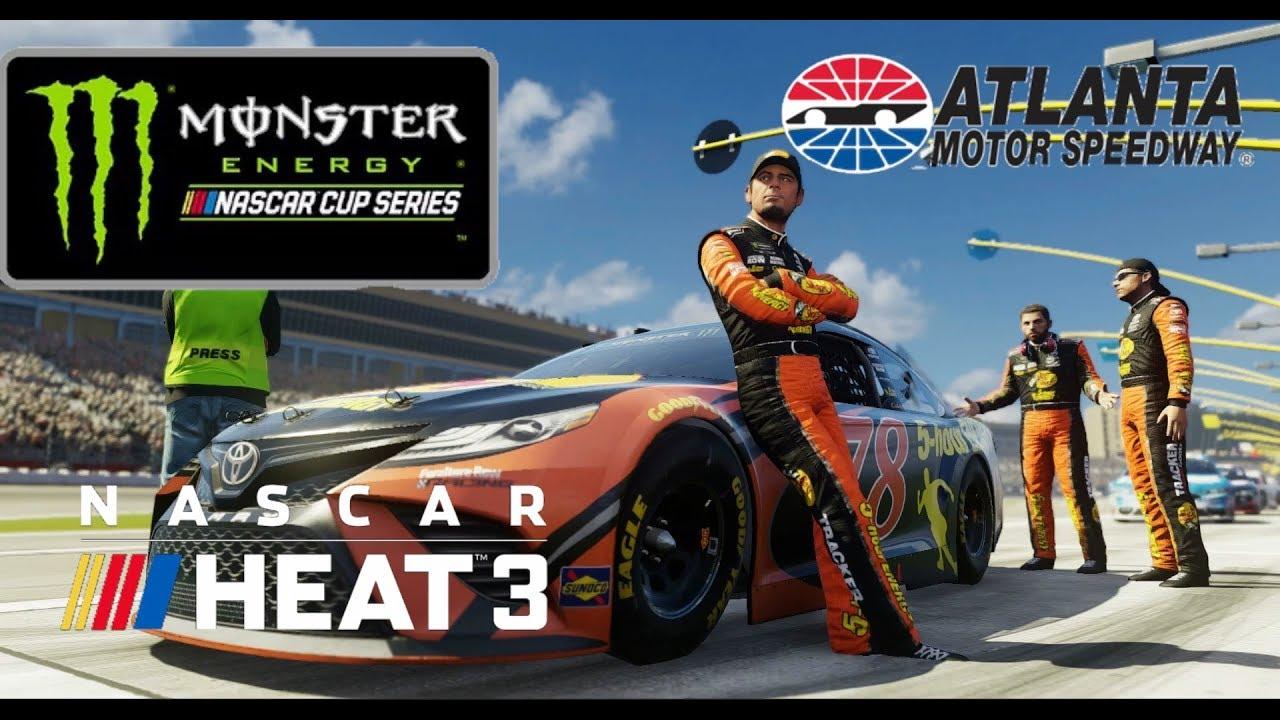 Nascar Heat 3 Setup Atlanta Setup Monster Energy Series