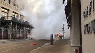 FDNY BOX 588 - READ DESCRIPTION - FDNY OPERATING AT MAJOR 3 ALARM STEAM PIPE EXPLOSION ON 5TH AVENUE