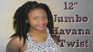 12 jumbo havana twist   crochet braids