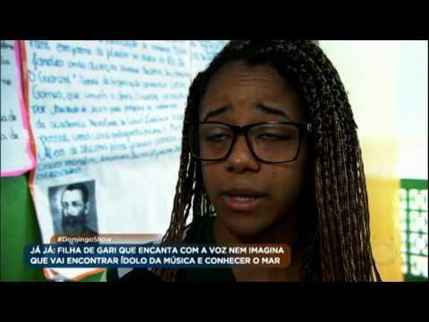 Amor e talento de Reysla uniu os pais, que ficaram separados por seis anos