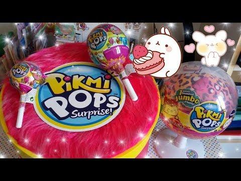 Pikmi Pops!!! ULTRA RARI Apriamo Plush Kawaii profumati in Lecca lecca giganti!!! Adoro!!!