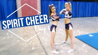 CHEER COMPETITION EPISODE: Spirit Cheer Day 1