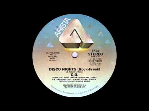 G.Q. - Disco Nights (Rock-Freak) Arista Records 1979