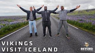 Beyond The Gridiron: Minnesota Vikings Players Visit Iceland