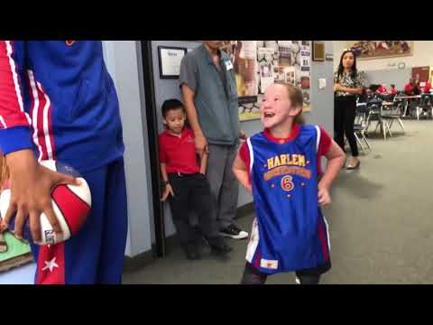 Globetrotters Reunite with Amazing Young Girl thumbnail