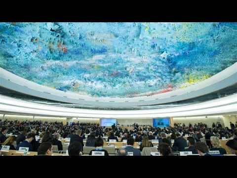 The 34th session of the UN Human Rights Council begins in Geneva