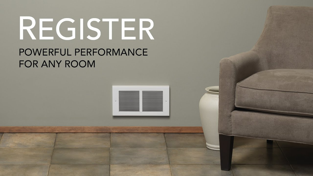 Cadet Register electric wall heater