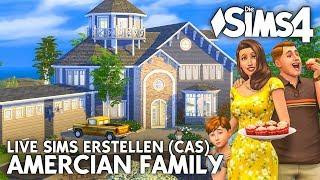 Sims erstellen LIVE | American Family im Die Sims 4 CAS erstellen