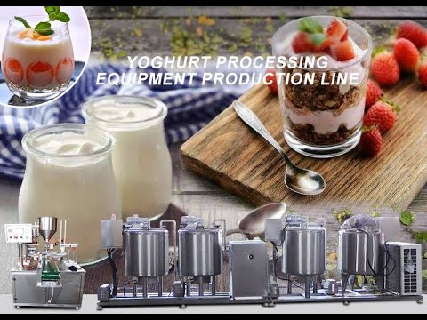 Wonderful Machine! Yoghourt Production Line / Yoghourt Processing Maker Machine
