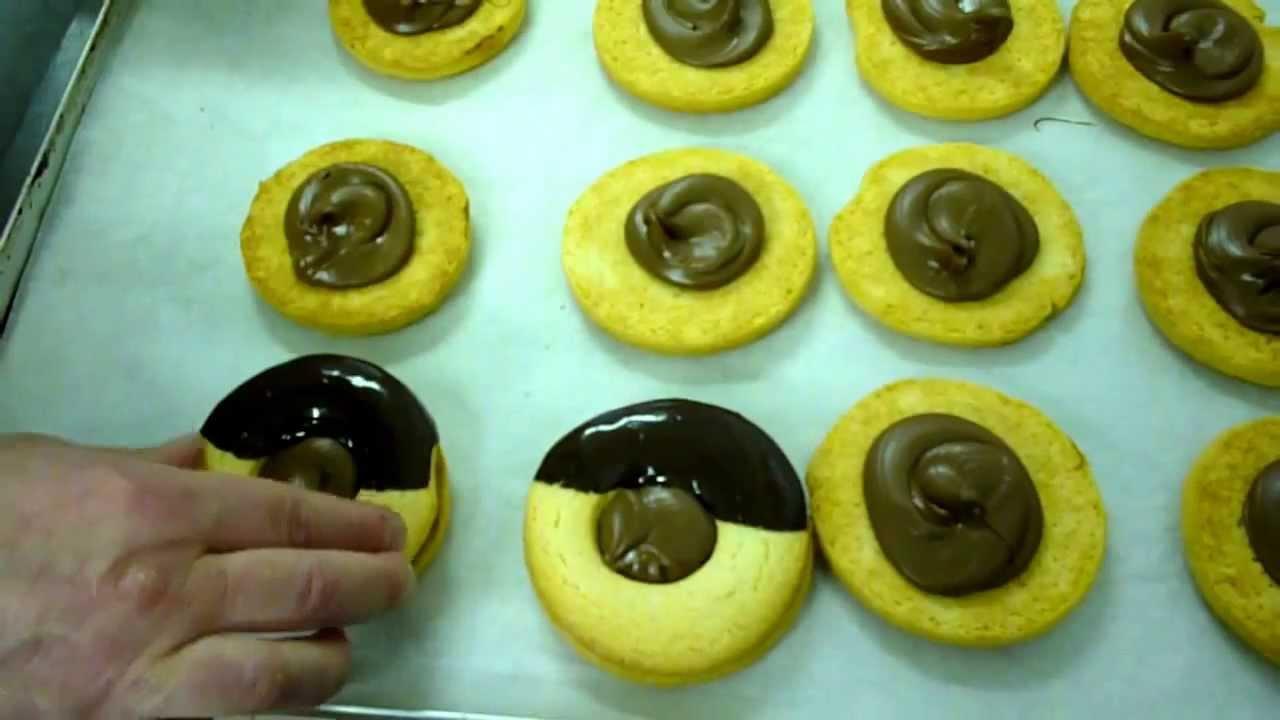Pasta Frolla Biscotti Occhi Di Bue Al Cioccolato Youtube