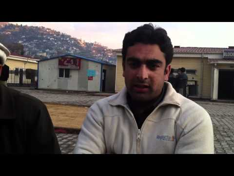 Political Representation at AJK University - Muzaffarabad 31/12/10