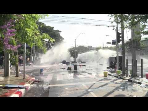 Gewalt und Chaos in Thailands Hauptstadt Bangkok 1