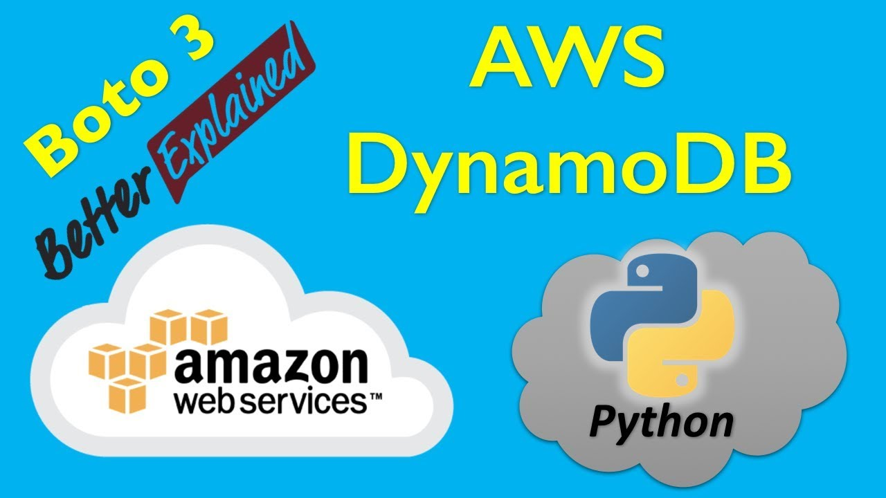 14 AWS Python Tutorial- Getting Started with DynamoDB, Table Creation and  more