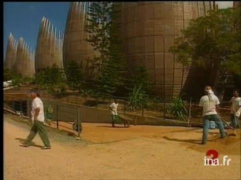 Le centre culturel Tjibaou de Renzo Piano