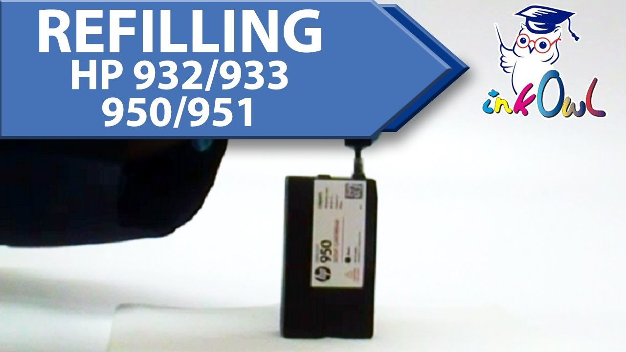 950 Ink How To Refill Hp 932 933 950 951 Ink Cartridges