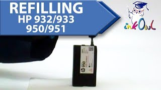 How to refill HP 932, 933, 950…