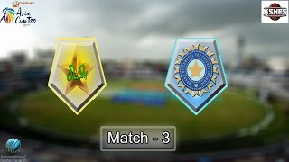 (Gaming Series)  Asia Cup 2016 Game 3 - Pakistan Vs India