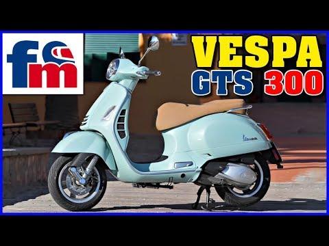 Vespa Gts 300 Hpe Review Y Prueba